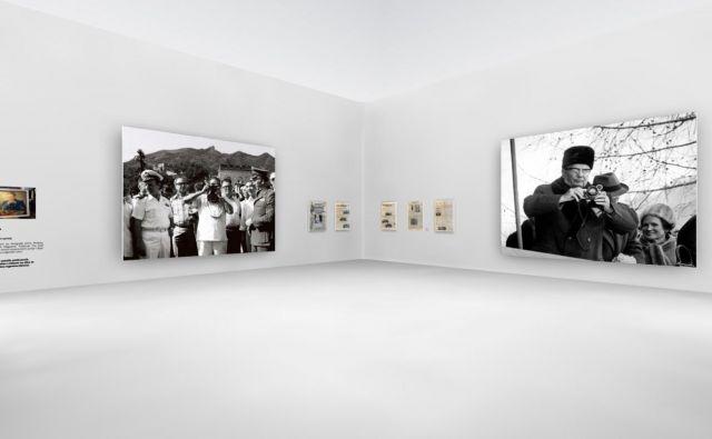 V prodajnem kotu galerije bo mogoče kupiti izbor fotografij Joca Žnidaršiča, na voljo bo izbor knjig o Titu in več antikvarnih predmetov. Foto Muzej tiska
