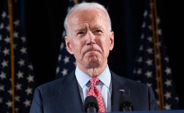 Joe Biden ZDA obljublja podpredsednico. Foto AFP