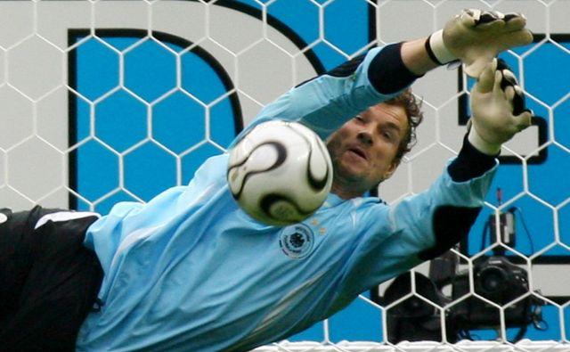 Jens Lehmann je branil vrata nemške reprezentance na SP 2006, ko je bil selektor moštvaJürgen Klinsmann. FOTO: Reuters