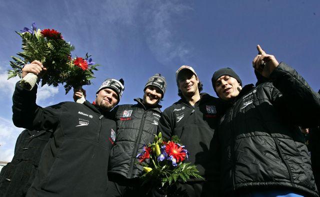 Steven Holcomb in Pavle Jovanovic (prvi in drugi z leve) nista več med živimi. FOTO: Reuters