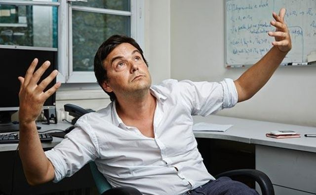 Thomas Piketty. Foto Bruno Levy/challenges-rea/redux