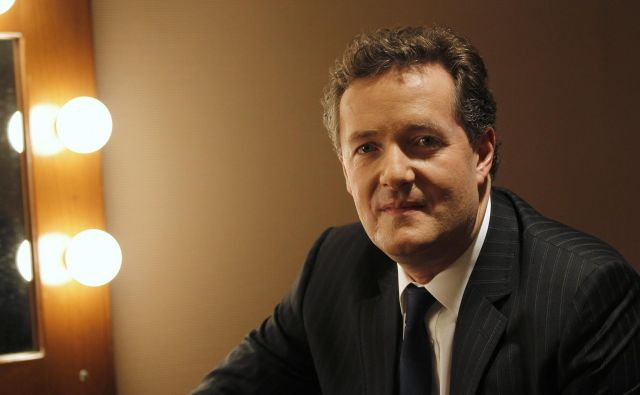 Piers Morgan je znan po nabrušenem jeziku. Pred Johnsonom je bila tarča njegovih napadov Meghan Markle. FOTO: Reuters