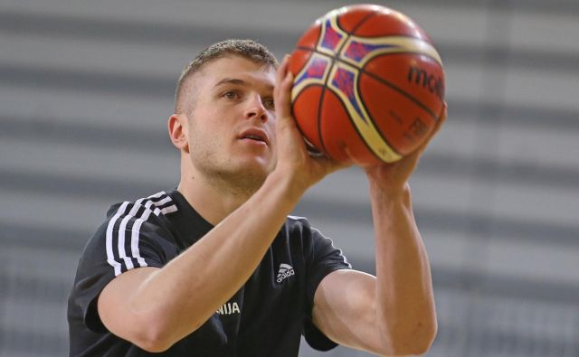 Tudi Edo Murić se je vrnil na treninge Cedevite Olimpije. FOTO: Tomi Lombar