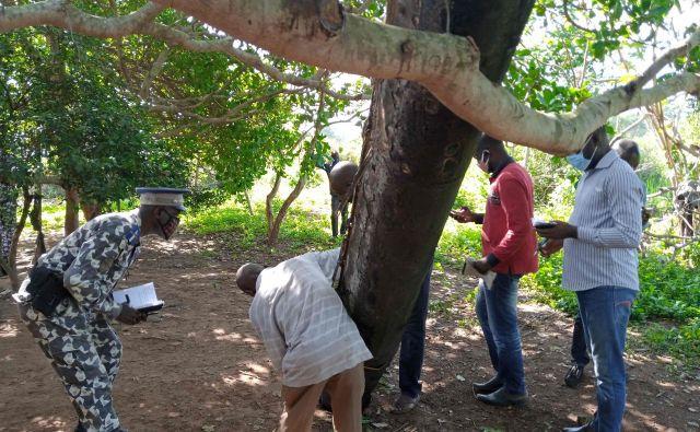 Deli za zdaj neznanega izvora so padli na vasN'Guessankro pri mestu Bouake v osrednjem delu Slonokoščene obale.