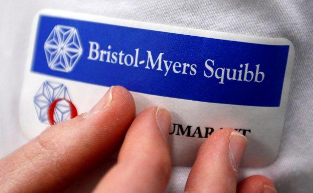 Bristol-Myers-Squibb je uspešen na področju razvoja in trženja biomedicinskih zdravil. FOTO: Reuters