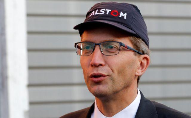 Epidemija ne bo preprečila Alstomove naložbe, pravi<br /> generalni direktor Henri Poupart-Lafarge. Foto Reuters