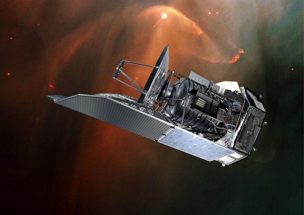 Največji infrardeči vesoljski teleskop