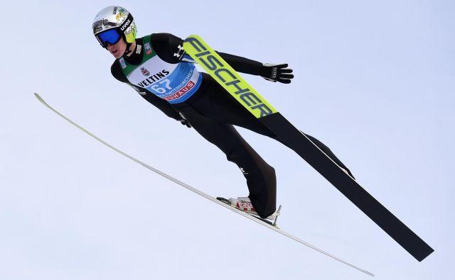 Peter Prevc seveda ostaja del skakalne A-reprezentance. FOTO: AFP