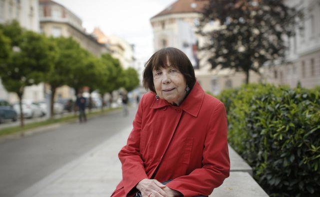 Gabi Čačinovič Vogrinčič je zaslužna profesorica na fakulteti za socialno delo, psihologinja, raziskovalka in družinska terapevtka. Foto: Jure Eržen