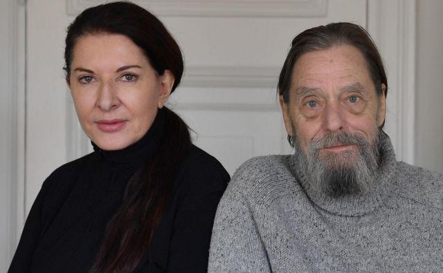 Marina Abramović se bo v prihodnjih mesecih ustvarjalno poklonila Ulayu, s katerim sta sodelovala med letoma 1975 in 1988. Foto Shutterstock
