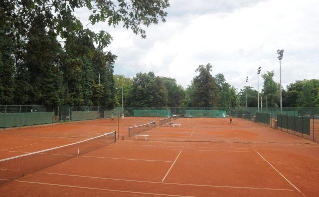 Teniška igrišča bodo postopoma povsem oživela. FOTO: Drago Perko