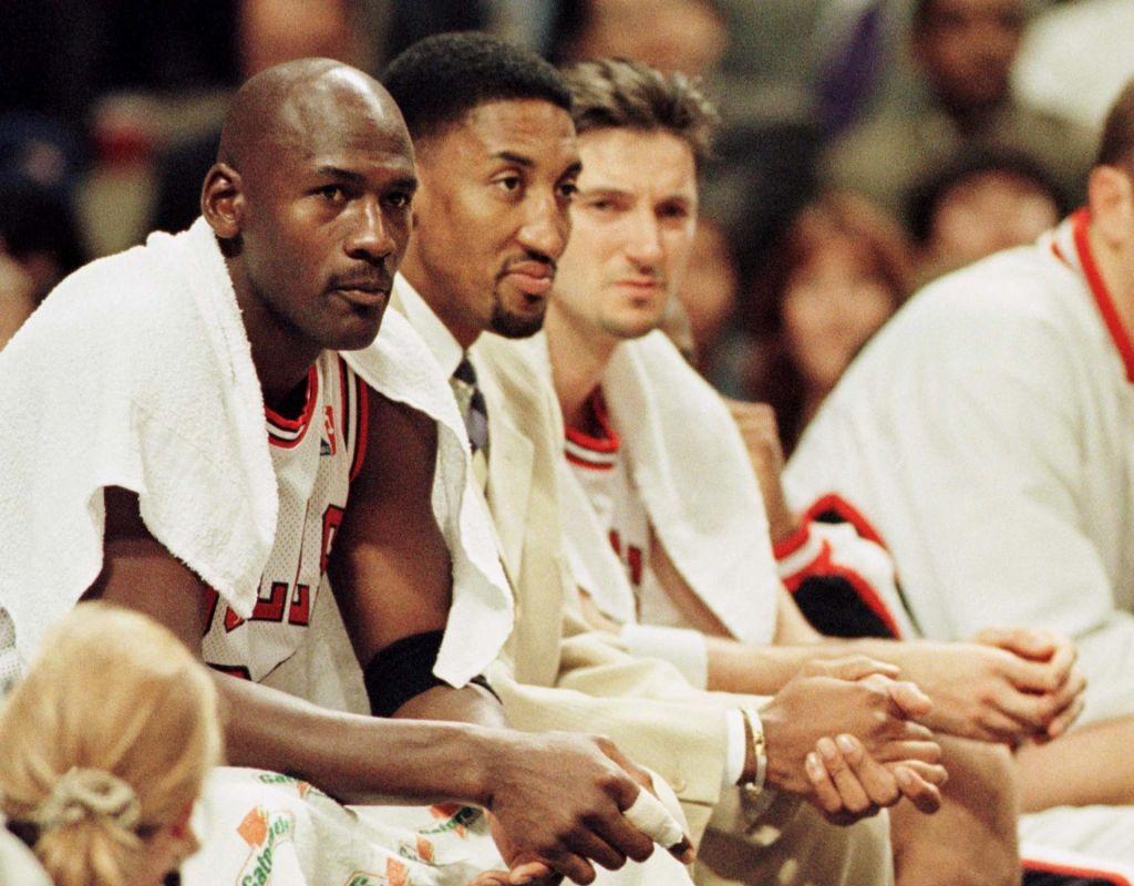 FOTO:Jordan in Pippen nista bila zlobna, hotela sta zmagovati