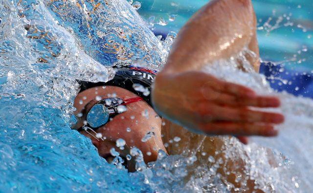 Vrhunski plavalci bodo potrebovali pol leta, da se bodo vrnili na nekdanjo tekmovalno raven. FOTO: Tomi Lombar/Delo