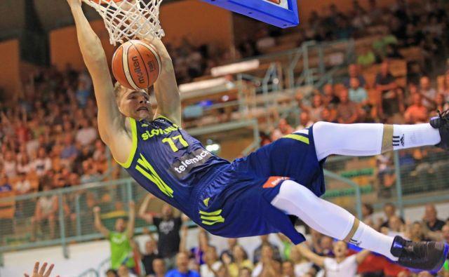 Ljubitelji košarke nestrpno čakajo, da bi lahko prvič po EP 2017 videli Luko Dončića v dresu slovenske reprezentance. FOTO: Tadej Regent
