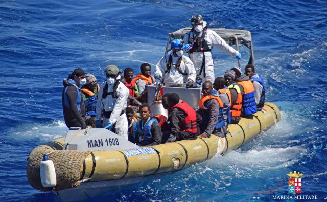 Letos je za četrtino manj prosilcev za azil v državah EU, Švici in na Norveškem kot v istem obdobju lani. FOTO: Str/AFP