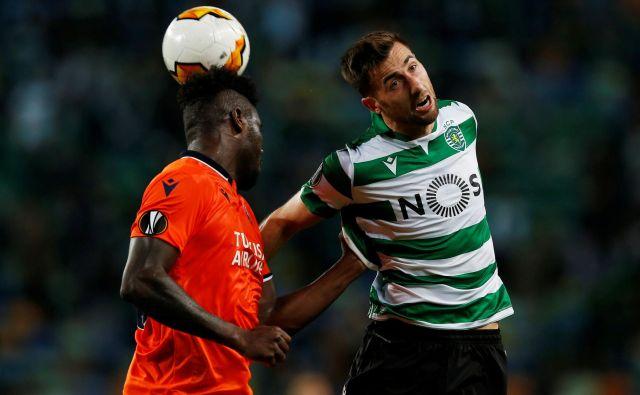 Andraž Šporar (desno) je letošnja okrepitev Sportinga. FOTO: Reuters