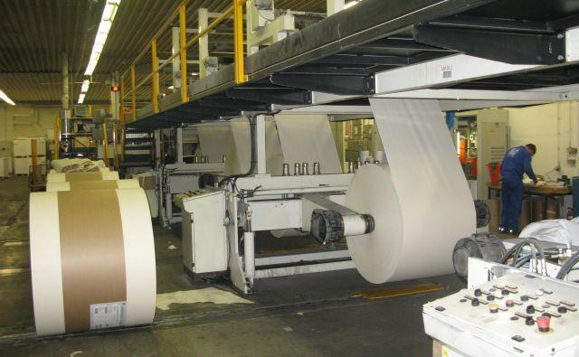 Papirnico Goričane čaka prihodnje leto šestmilijonska naložba v stiskalnice. FOTO: Marjana Hanc/Delo