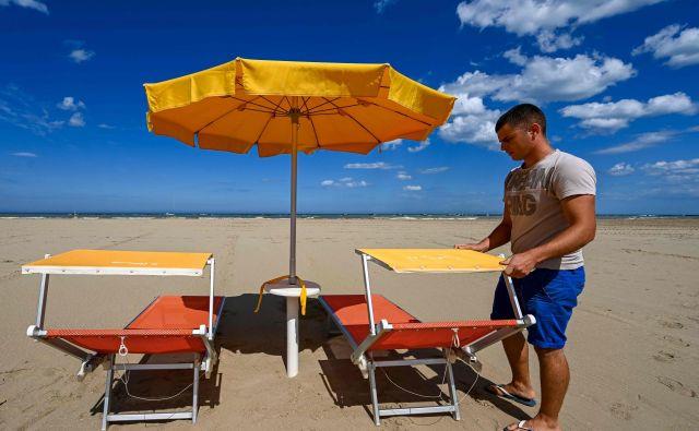 To, kar smo Evropejci doživljali v domačih mestih, bo tako ali drugače zaznamovalo življenje v turističnih krajih. Foto: Vincenzo Pinto/Afp