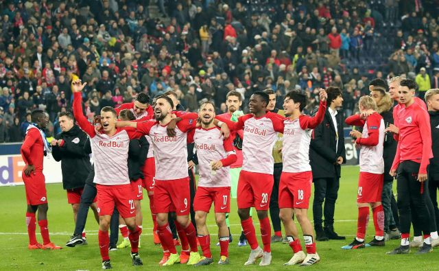 Nogometaši Salzburga želijo nadomestiti tri točke zaostanka za Lasokom. FOTO: AFP