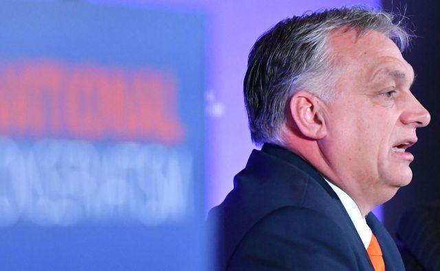 Madžarskemu premieru Viktorju Orbánu se še ni treba bati bruseljskih ukrepov. FOTO: AFP