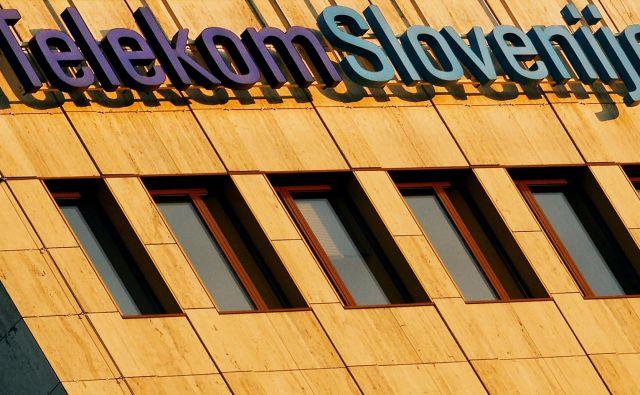 Telekom Slovenije FOTO: Tomi Lombar/Delo