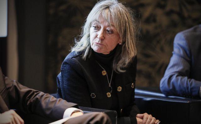 SDS je podporo jasno izrazila vrhovni sodnici Barbari Zobec, soprogi nekdanjega ustavnega sodnika Jana Zobca. FOTO: arhiv Dela