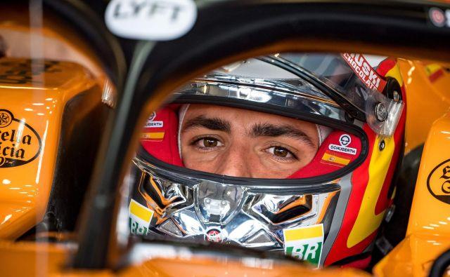 Carlos Sainz bo odslej vozil za Ferrari. FOTO: AFP