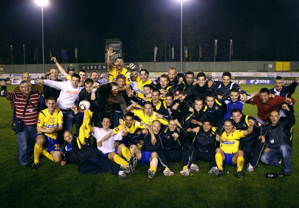 FOTO:Koper pred desetimi leti zadal prvi udarec Zahovićevemu Mariboru