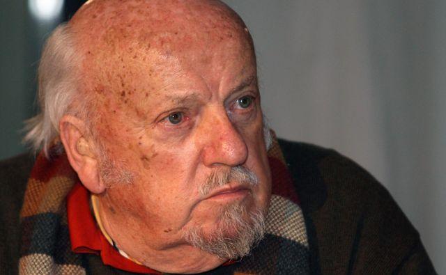 Bert Pribac (1933–2020) velja za enega izmed najuglednejših književnih ustvarjalcev slovenskega izseljenstva.FOTO: Ljubo Vukelič/Delo