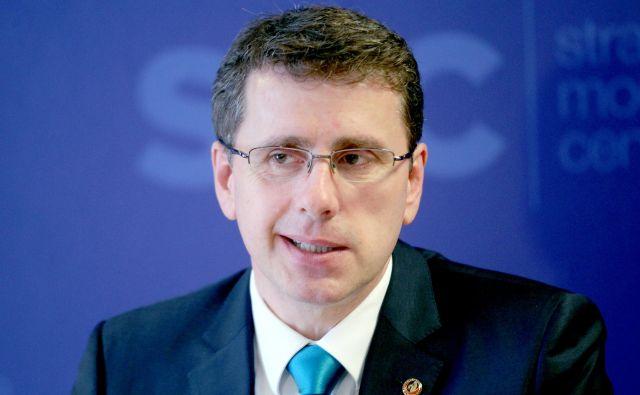 Möderndorfer ni skrival nezadovoljstva in kritik zaradi vstopa SMC v vlado Janeza Janše. FOTO: Roman Šipić/Delo