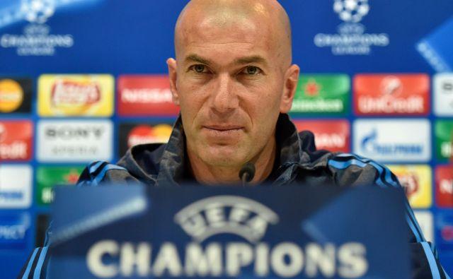 Zinedine Zidane je poskrbel za enega od najlepših golov v ligi prvakov. FOTO: AFP