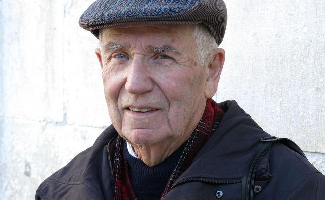 Tomaž Bizajl, nekdanji direktor Primorskih novic, pri 80-ih. FOTO: Andraž Gombač