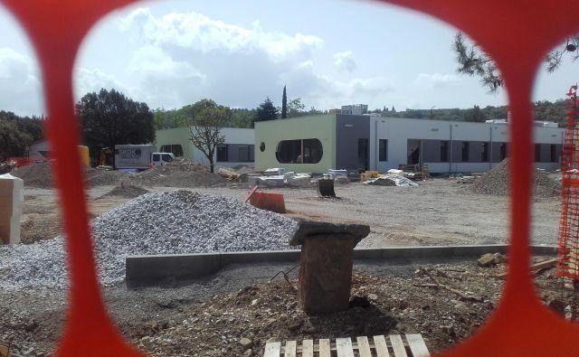 Okoli novih stavb zdravstvenega doma je predvidena ozelenitev. FOTO: Nataša Čepar/Delo