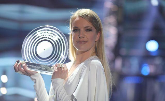 Ana Soklič, zmagovalkaEme 2020FOTO: Adrian Pregelj/RTV Slovenija