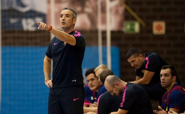 Toni Gerona je bil večino časa trener mlajših selekcij v Barceloni. FOTO: FCB