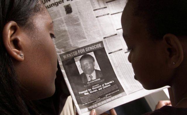 Za informacije o Felicienu Kabugi so tudi ZDA razpisale nagrado petih milijonov dolarjev. FOTO:George Mulala/Reuters