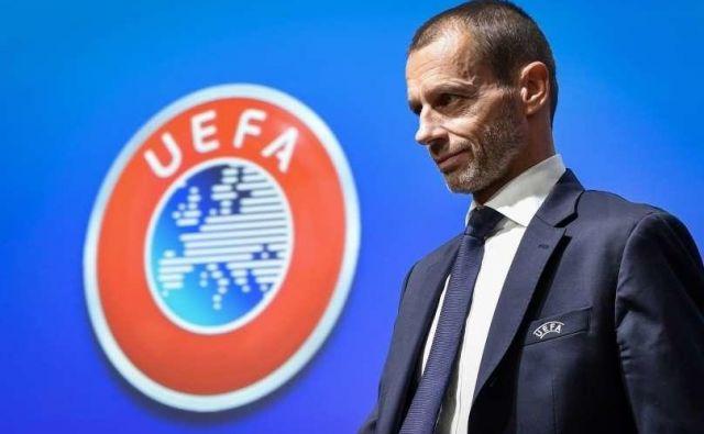Aleksander Čeferin načrtuje konec nogometne sezone 2019/20 do avgusta. FOTO: Reuters