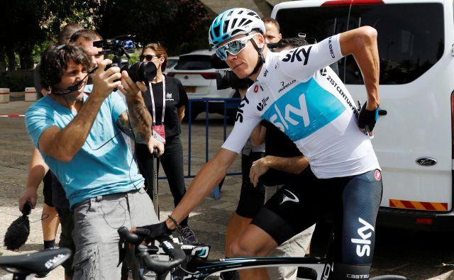 Chris Froome bi utegnil zamenjati moštvo. FOTO: Reuters