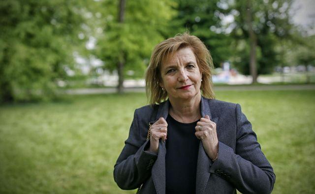Bojana Beović - infektologinja 13.05.2020 [Bojana Beovič,infektologi,doktorji,zdravstvo] Foto Blaz Samec