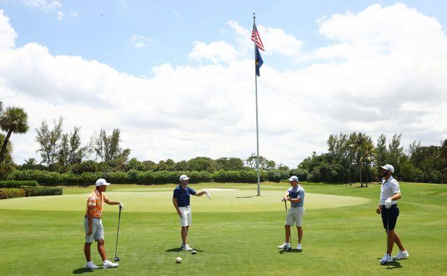 Prvi turnir v golfu po izbruhu pandemije so izvedli na Floridi v dobrodelne namene. Ameriškim zdravstvenim delavcem je prinesel dobrih pet milijonov ameriških dolarjev. FOTO: USA Today Sports