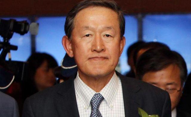 Predsednik FC Seula Hu Čang Suje tudi vodja enega največjih južnokorejskih podjetij. FOTO: Yonhap News