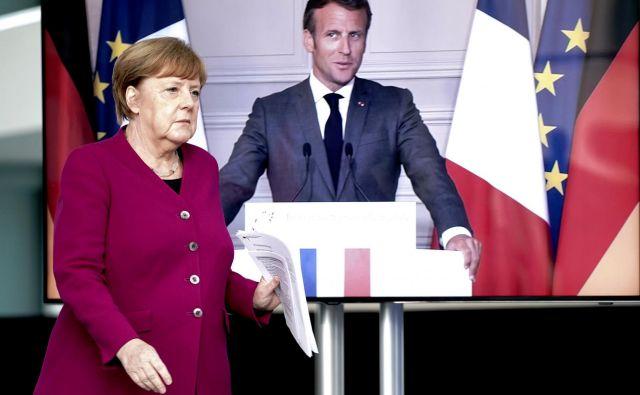 Načrt kanclerke Angele Merkel in francoskega predsednika Emmanuela Macrona bo moralo ratificirati vseh 27 parlamentov držav članic.Foto: Reuters