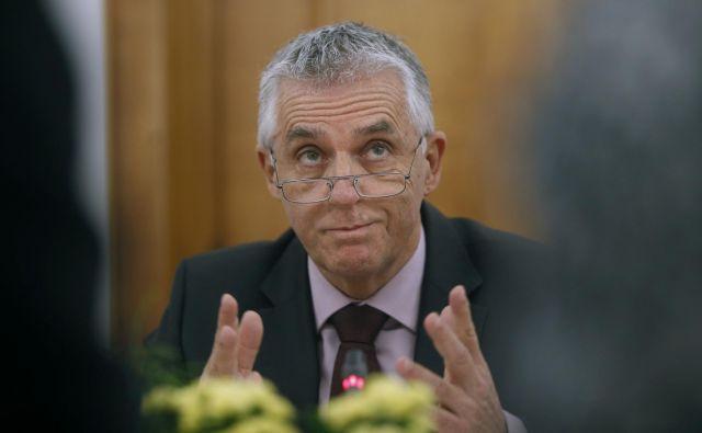 Bo Tomaž Gantar ostal zdravstveni minister? FOTO: Blaž Samec