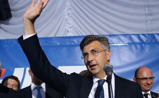 Hrvaški premier Andrej Plenković. Foto: Reuters