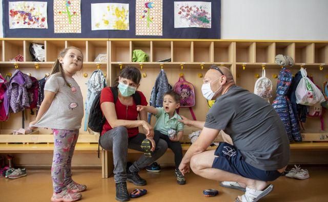 Z današnjim dnem so se otroci po epidemiji vrnili v vrtce, Ljubljana, 18. 5. 2020 Foto Voranc Vogel