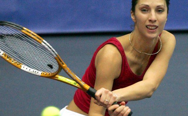 Anastasija Miskina pripada valu odličnih ruskih teniških igralk, ki so opozorile nase pred dvema desetletjema. FOTO: Reuters