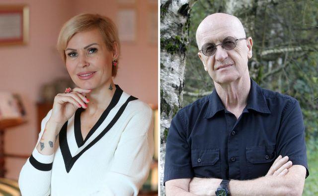 dr. Veronika Podgoršek in dr. Andrej Perko FOTO: Dejan Javornik In Mavric Pivk