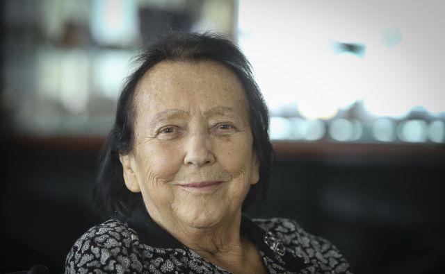 Aleksandra Kornhauser Frazer je do zadnjega živela tako, kot je hotela – predana svojemu delu. Foto Jože Suhadolnik