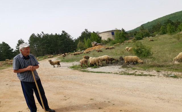 Stanimir Stančić na Stari planini: Mladi so šli, nočejo pasti ovac.