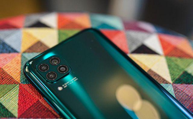 P40 Lite je primeren za akcijo v vseh okoliščinah FOTO: Huawei